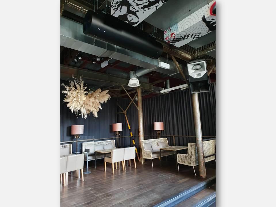 """Bild: In der """"Seifenfabrik Dr. Thompson's"""" (Düsseldorf) wurde die schwarze Variante des UVCleans installiert."""