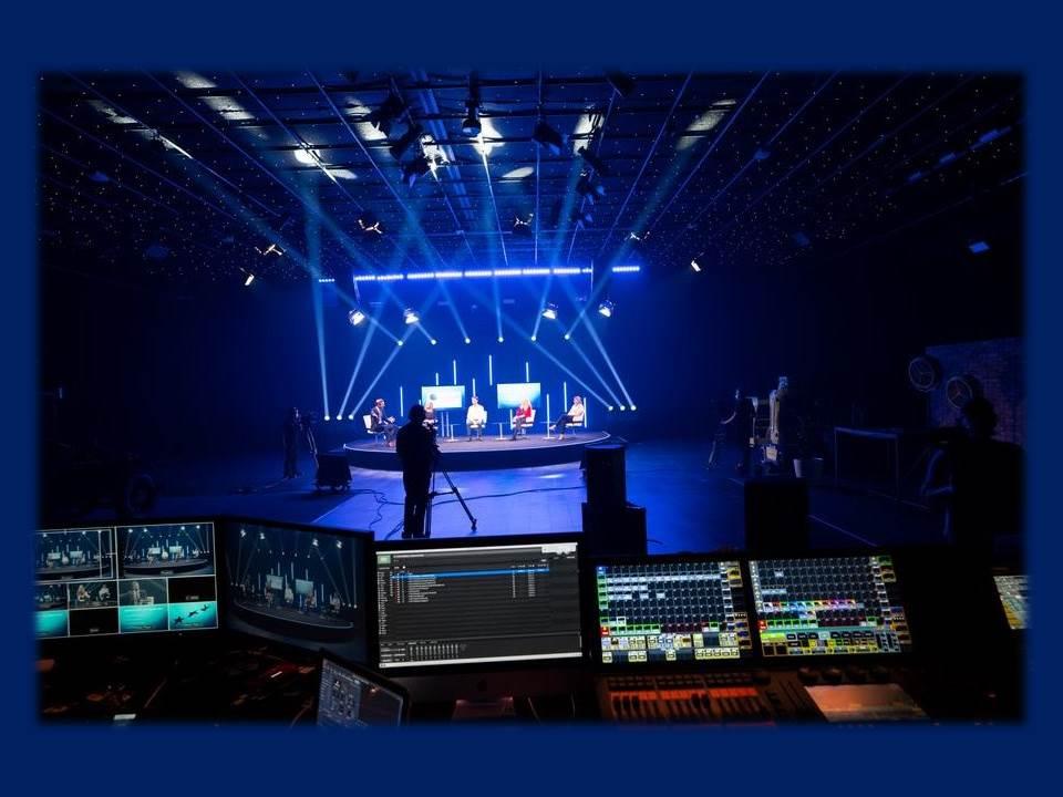 Bild: Neues Streaming-Studio im Europa-Park   (Quelle: presse.europapark.com)