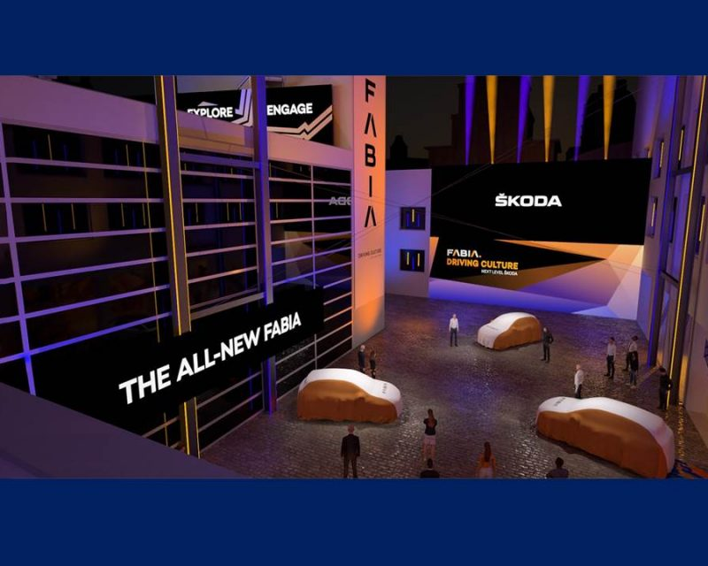 Bild: Virtuelle Präsentation des SKODA FABIA am 04. Mai 2021 (Bildrechte: SMB / Fotograf: Skoda Auto Deutschland GmbH)