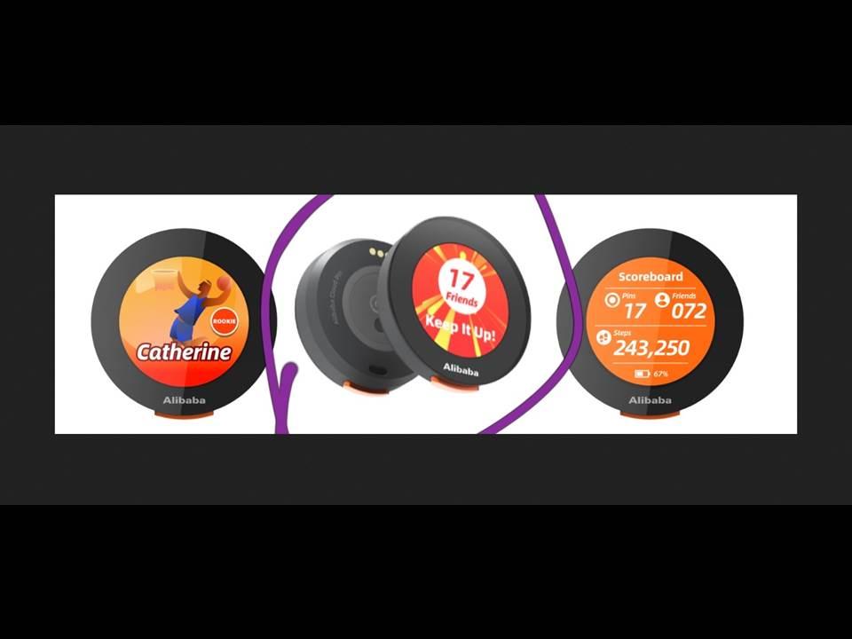 Bild: Die Alibaba Cloud Pins dienen als multifunktionale, digitale Namensschilder für eine sichere und spielerische Interaktion der Medienfachleute während der Olympischen Spiele Tokio 2020 (Copyright: Alibaba Cloud)