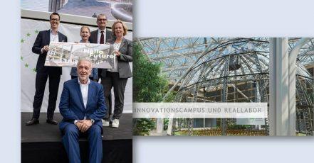 Bild: EUREF-Campus (Bild-Collage) - Quelle: Düsseldorf Convention